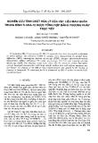"""Báo cáo """" Nghiên cứu tính chất hóa lý của vật liệu mao quản trung bình Ti-SBA-15 được tổng hợp bằng phương pháp trực tiếp """""""
