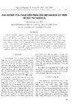 """Báo cáo """" Ảnh hưởng của canxi đến phản ứng metan hóa CO trên hệ xúc tác NiO/Al2O3"""""""