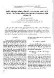 """Báo cáo """" Khảo sát khả năng gắn kết Co của các bazơ nitơ trong chuỗi DNA bằng phương pháp hồi phục bán lượng tử """""""