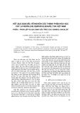 """Báo cáo """"Kết quả ban đầu về nghiên cứu thành phần hóa học cây lá ngón (Gelsemium elegans) của việt nam: Phần l – Phân lập và định cấu trúc các oxindol ancaloit """""""