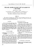 """Báo cáo """" Tổng hợp, nghiên cứu phức chất của europi với L. Methionin"""""""