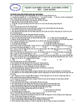 Chủ đề 9: DAO ĐỘNG TẮT DẦN – DAO ĐỘNG CƯỠNG BỨC – CỘNG HƯỞNG