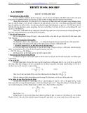 Chuyên đề Thuyết tương đối hẹp