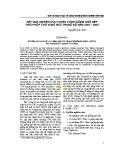Kết quả nghiên cứu tuyển chọn giống ngô nếp thích hợp cho vùng Bắc Trung bộ năm 2007 - 2008