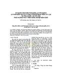 Sử dụng chế phẩm phân bón lá Fito-humat và phân bón hữu cơ vi sinh Fitohoocmon trên cây lúa tại Phú Xuyên - Hà Tây (cũ) theo hướng phát triển nông nghiệp bền vững