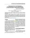 Kết quả đánh giá đa dạng nguồn gen cây khoai mỡ (Dioscorea alata L.) đang bảo quản tại Ngân hàng Gen cây trồng Quốc gia năm 2009