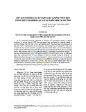 Kết quả nghiên cứu sử dụng liều lượng phân bón thích hợp cho giống lạc L23 vụ xuân 2009 tại Hà Tĩnh