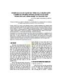 Nghiên cứu và xây dựng quy trình xử lý nguồn nước ô nhiễm do chế biến tinh bột sắn để tái sử dụng trong sản xuất nông nghiệp tại tỉnh Kon Tum