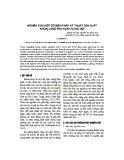 Nghiên cứu một số biện pháp kỹ thuật sản xuất khoai lang rau KLR5 tại Hà Nội
