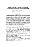 Nghiên cứu đa hình di truyền loài lan Hài đốm (Paphiopedilum concolor Pfitzer) bản địa của Việt Nam