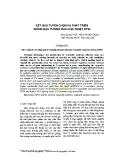 Kết quả tuyển chọn và phát triển giống đậu tương rau chịu nhiệt DT02