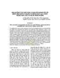 Ảnh hưởng của chế phẩm vi sinh đối kháng đối với bệnh héo xanh vi khuẩn và năng suất lạc, vừng trong nhà lưới và ngoài đồng ruộng