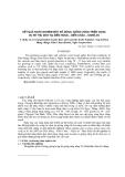 Kết quả khảo nghiệm một số dòng, giống vừng triển vọng vụ hè thu 2003 tại Diễn Hùng - Diễn Châu - Nghệ An