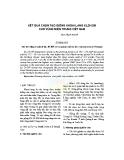 Kết quả chọn tạo giống khoai lang KL20-209 cho vùng miền Trung Việt Nam