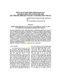 Báo cáo: Phân lập và nhận dạng nấm Colletotrichum gây bệnh thán thư cà phê ở Việt Nam dựa trên đặc điểm hình thái học và phương pháp phân tử