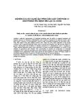 Báo cáo: Nghiên cứu xây dựng qui trình sản xuất chế phẩm vi sinh phòng trừ bệnh héo lạc và vừng