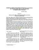 Nghiên cứu bệnh phấn trắng do nấm Oidium gerberathium gây hại hoa đồng tiền vụ xuân năm 2009 ở vùng Hà Nội và phụ cận