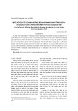Một số yếu tố ảnh hưởng đến khả năng sinh tổng hợp γ-Decalactone của chủng nấm men Yarrowia lipolytica W29