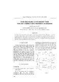 """Báo cáo """" Phản ứng ngưng tụ với andehit thơm của axit 3-amino-3-arylpropanoic và indanon """""""