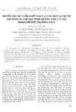 """Báo cáo """" Nghiên cứu ảnh hưởng kép của clay và ion pha tạp tới khả năng ức chế quá trình ăn mòn thép CT3 của nanocompozit polypyrol/clay """""""