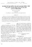 """Báo cáo """" Nghiên cứu ảnh hưởng của bột khoáng Sericit đến tính chất và quá trình chế tạo vật liệu cao su thiên nhiên """""""