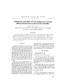 """Báo cáo """" Nghiên cứu khả năng xúc tác quang hóa khử màu metyl dâcm của Cu2O kích thước nanomet """""""
