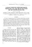 """Báo cáo """" Fucoidan từ rong nâu Sargassum swartzii: Phương pháp tách, hoạt tính gây độc tế bào ung thư và nghiên cứu cấu trúc """""""