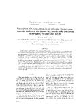 """Báo cáo """" Ảnh hưởng của hàm lượng magiê đến cấu trúc và hoạt tính của chất xúc tác quang TiO2 trong phản ứng phân hủy phenol với ánh sáng UV-VIS """""""