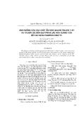"""Báo cáo """" Ảnh hưởng của các chất ổn định quang tinuvin 1130 và tinuvin 292 đến quá trình lão hóa quang của hệ cao su butađien/clobutyl """""""