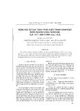 """Báo cáo """"Động học sự tạo thành phức chất trung gian hoạt động peroxo (PER) trong hệ: H2O - Co2+ - axit xitric (H4L) - H2O2 """""""