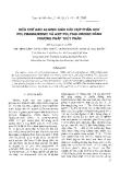 """Báo cáo """" Điều chế axit alginic giàu các hợp phần axit polymannuronic và axit polyguluronic bằng phương pháp thuỷ phân """""""