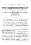 """Báo cáo """" Khả năng bảo vệ xúc tác cracking trước sự tác động của kim loại nặng trong nguyên liệu khi sử dụng pha nền hoạt động là Kaolin Việt Nam biến tính """""""