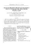 """Báo cáo """" Nghiên cứu tổng hợp và tính chất xúc tác của zeolit ZSM-5 có tỉ số Si/Al khác nhau trong phản ứng Cracking n-Hexan """""""