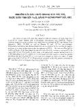 """Báo cáo """" Nghiên cứu các chất quang xúc tác TiO2 được biến tính bằng Fe2O3 bằng phương pháp sol-gel"""""""