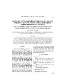 """Báo cáo """" Nghiên cứu chế tạo vật liệu polyme phân hủy sinh học trên cơ sở nhựa polylactic axit gia cường bằng sợi nứa (Neohouzeaua dullôa). Phần I. Đánh giá ảnh hưởng của phương pháp xử lý đến tính chất sợi nứa dùng để chế tạo vật liệu polyme phân hủy sinh học """""""