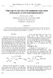 """Báo cáo """" Tổng hợp và cấu trúc dãy hiđrazon chứa vòng furoxan đi từ axit isoeugenoxiaxetic """""""