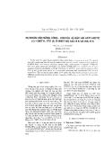 """Báo cáo """" Dự đoán cân bằng lỏng - hơi của hệ bậc hai axit axetic (1) + dietyl ete (2) ở nhiệt độ 348,15 K và 398, 15 K """""""