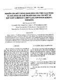 """Báo cáo """"Nghiên cứu mối tương quan giữa cấu trúc electron và khả năng ức chế ăn mòn kim loại của một số hợp chất 2-hiđroxy-4-metylaxetophenon benzoyl hiđrazon """""""
