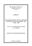 Luận văn:Hoàn thiện hệ thống ngữ vựng tiếng Hrê ứng dụng xây dựng từ điển Hrê-Việt và Việt-Hrê