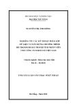 Luận văn:NGHIÊN CỨU CÁC KỸ THUẬT PHÂN LỚP DỮ LIỆU VÀ XÂY DỰNG CHƯƠNG TRÌNH HỖ TRỢ ĐÁNH GIÁ THÀNH TÍCH NHÂN VIÊN CHO CÔNG TY ESILICON VIỆT NAM