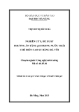 Luận văn:NGHIÊN CỨU, ĐỀ XUẤT PHƯƠNG ÁN TĂNG pH TRONG NƯỚC THẢI CHẾ BIẾN CAO SU BẰNG ĐÁ VÔI