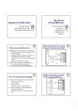 Bài giảng: Nguyên lý hệ điều hành (Nguyễn Hải Châu)