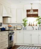 Bạn có thể tạo một không gian rộng hơn cho căn bếp có diện tích nhỏ