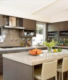 Những kiểu sắp xếp khu bếp đơn giản nhưng hiệu quả