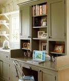 8 cách bố trí bàn làm việc trong bếp