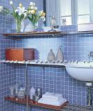 Nhiều cách lưu trữ cho phòng tắm vừa đẹp vừa tiện dụng