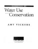 Water use and conservation