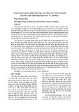 PHÂN TÍCH CHỈ SỐ ĐA DẠNG SINH HỌC CỦA THỰC VẬT THÂN GỖ TRONG KHU BẢO TỒN THIÊN NHIÊN SƠN TRÀ - TP. ĐÀ NẴNG