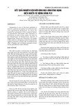 KẾT QUẢ NGHIÊN CỨU MÔ HÌNH NHÀ KÍNH ỨNG DỤNG ĐIỀU KHIỂN TỰ ĐỘNG BẰNG PLC