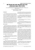 MỘT SỐ BIỆN PHÁP KÍCH THÍCH NHÃN TIÊU DA BÒ (Dimocarpus longan LOUR.) RA HOA